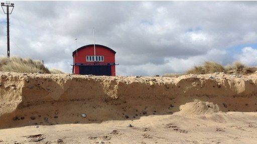 Caister-on-Sea lifeboat shed