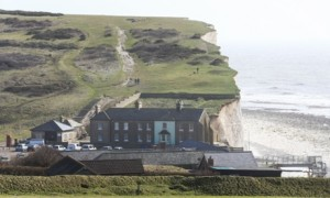 Gareth Fuller's photo of the erosion at Birling Gap