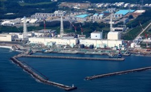 The port of the Fukushima No. 1 nuclear power plant in July 2012